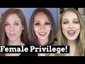 Checking Our Female Privilege! | Feat. ABitOfBritt & Kisara Vera