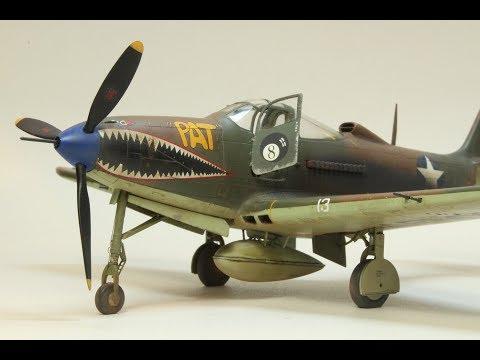 Eduard 1/48 P-400 Airacobra, Full Build Part 1