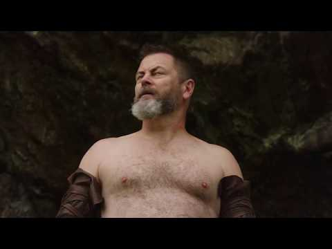 Behind the Scenes: Nick Offerman on Creating His Own Branded Bottle of Lagavulin Scotch Whisky