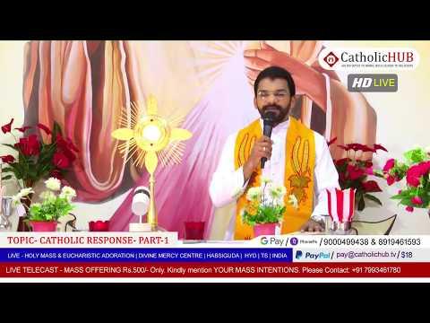 HOLY MASS | CATHOLIC RESPONSE-PART 1 | REV.FR.BENNY SVD | DMC | HABSIGUDA |HYD | IND 30-04-2020