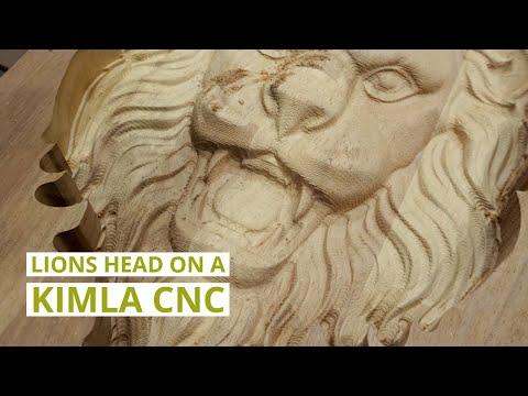 Lions Head Kimla CNC Demonstration: Daltons Wadkin