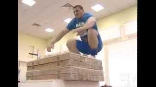CTV.BY: Сборная Беларуси по тяжелой атлетике готовится к чемпионату мира