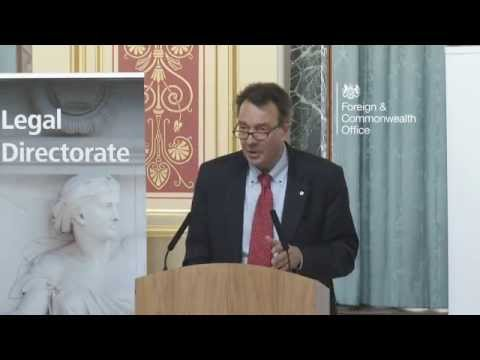 Foreign Office Legal Directorate 2nd Annual Lecture in International Law