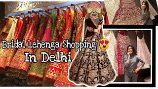 #Superशादी😍   OMG - Shopping My BRIDAL LEHENGA In Delhi   Super Style Tips