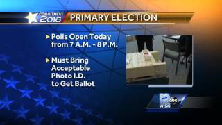 Polls set to open for Wisconsin primary