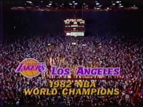 1982 NBA Finals: Sixers at Lakers, Gm 6 part 13/13 - YouTube