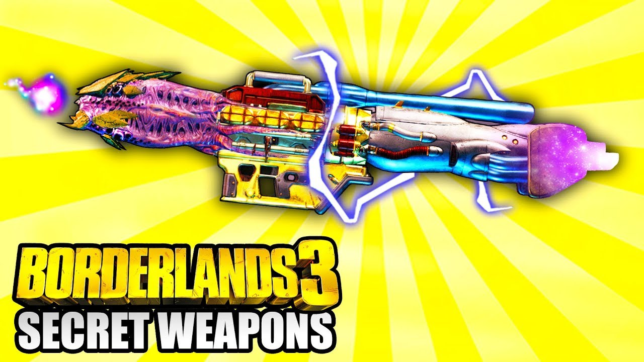 Borderlands 3 - These Secret LEGENDARY WEAPONS Are UNOBTAINABLE! thumbnail
