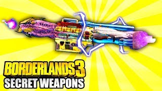 Borderlands 3 - These Secret LEGENDARY WEAPONS Are UNOBTAINABLE!