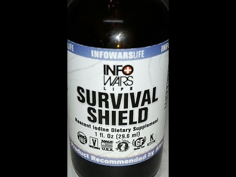 Product Review Survival Shield Nascent Iodine How To