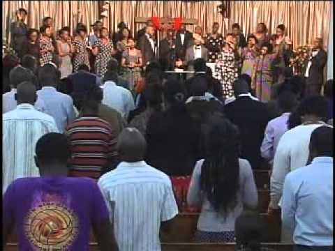 Deborah Makwele singing show me your glory.