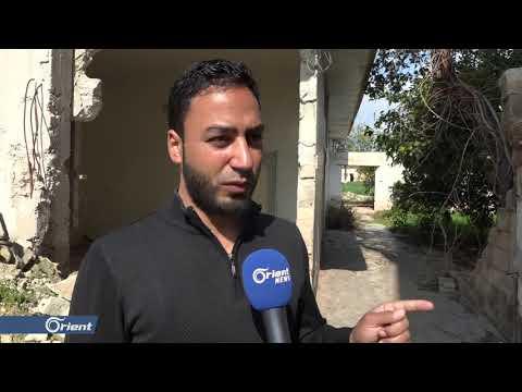 إعلان بلدة كفرزيتا منكوبة بعد قصفها من قبل ميليشيا أسد الطائفية - سوريا