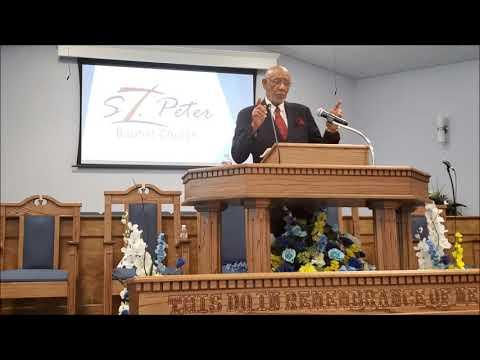 St. Peter M.B. Church - Jackson, MS - Sunday Service - 4.5.2020