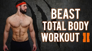 7 Minute No-Gym Total Body BEAST Home Workout - PART 2   Total Body Workout For Men (No EQUIPMENT