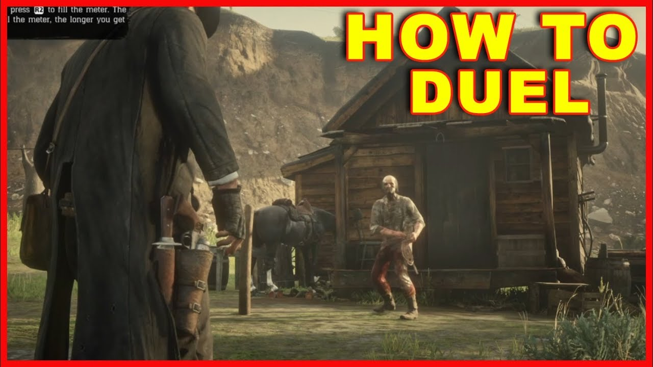 Red Dead Redemption 2: How to Duel & Win the Duel
