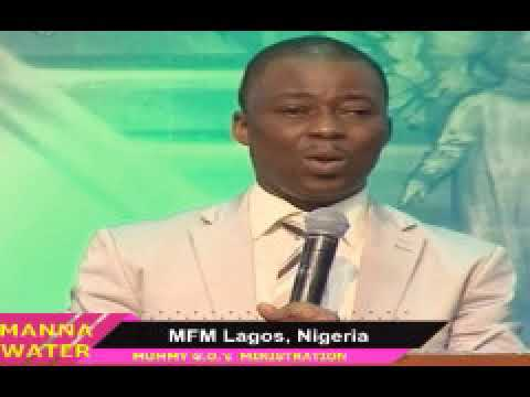 PRAYERS TO DESTROY  INFIRMITIES & DISEASES -DR. OLUKOYA - MFM MANNA WATER REVIVAL SERVICE MARCH 2020