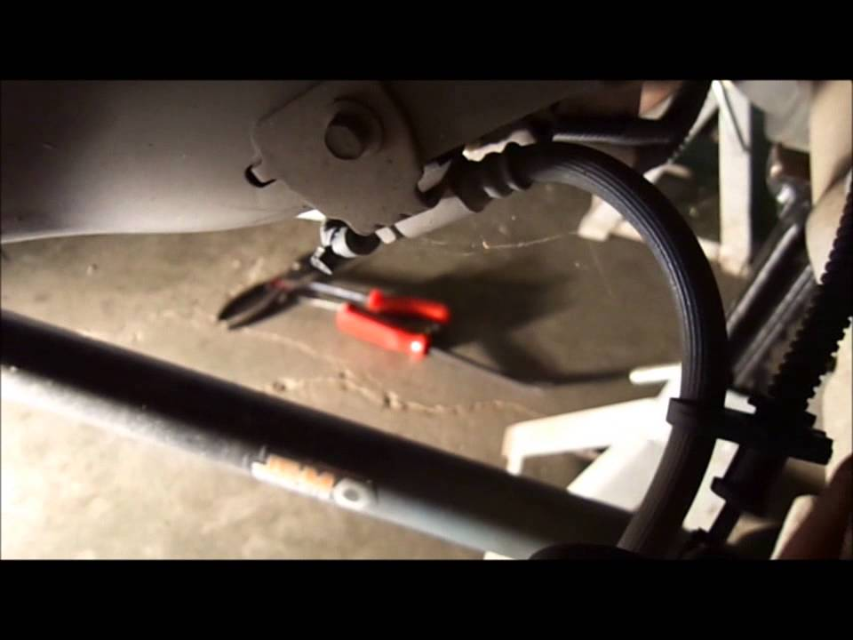 Mustang Parking Brake Cable Install Youtube