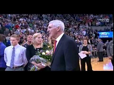 Jerry Sloan Retirement Ceremony Part 2