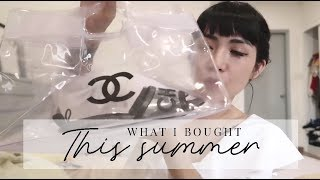 [Weekly VBLOG] - Chủ đề mua sắm : WHAT I BOUGHT THIS SUMMER