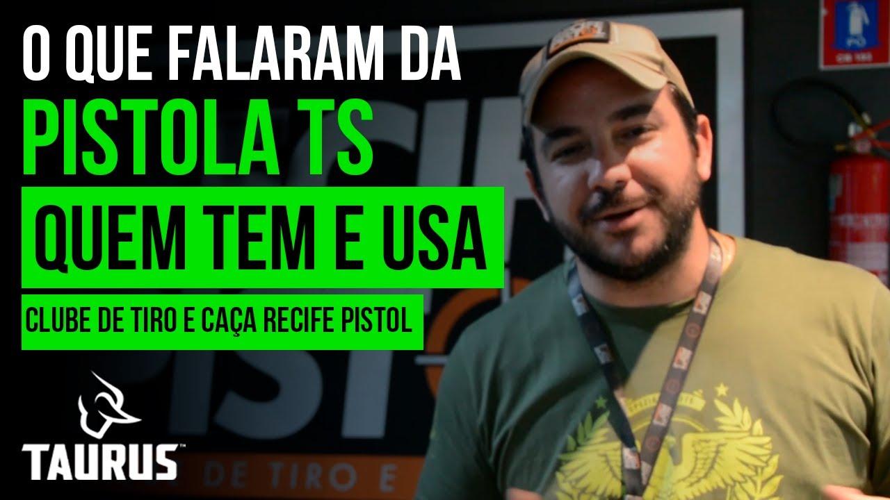 Pistola Taurus TS9 apresentada por quem TEM e USA [Clube de Tiro e Caça Recife Pistol]