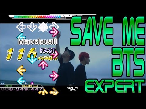 Let's Play DDR/StepMania! BTS (방탄소년단) - Save Me (FULL) [EXPERT]