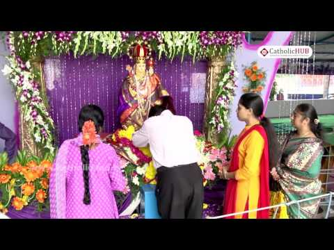 Flag Hoisting Day @ Our Lady Of Vailakanni Chapel, Ammauguda, Secbad, HYD,TS,INDIA, 29-08-2016 HD