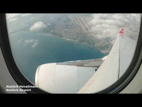 Türk Hava Yolları TK2463 Adana - İstanbul Uçuşu İstanbul Havalimanı Geliş Katı