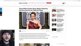 Alyssa Milano SLAMMED By Far Left For Claiming To Be EVERY Oppressed Minority