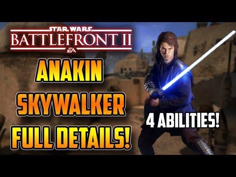 ANAKIN SKYWALKER HAS 4 ABILITIES! Full Details, Star Cards & More! Star Wars Battlefront 2 thumbnail