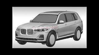 Смотреть видео Дизайн серийного BMW X7 раскрыли на патентных изображениях — Новости — Motor онлайн