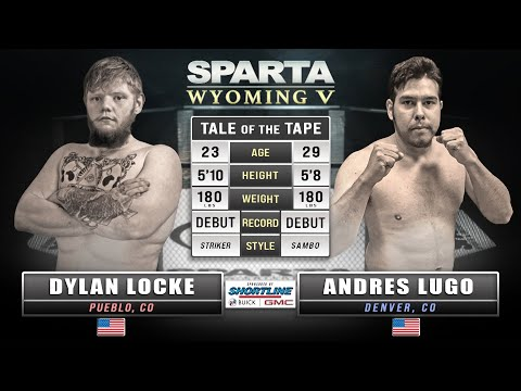 Sparta Wyoming 5 Dylan Locke vs Andres Lugo Kickboxing