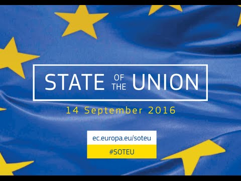 State of the Union Address 2016: Towards a better Europe - #SOTEU