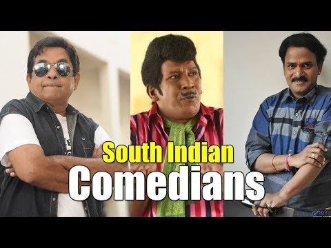 Best 05 South Indian Comedians Telugu & Tamil Movies | S/A MEDIA LTD
