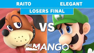 The Mang0 3 - Raito (Duck Hunt) VS Elegant (Luigi) - Smash Ultimate - Losers Final