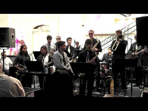 Blue Train- Monta Vista High School Jazz Combo @ San Jose Jazz Festival Aug 2013