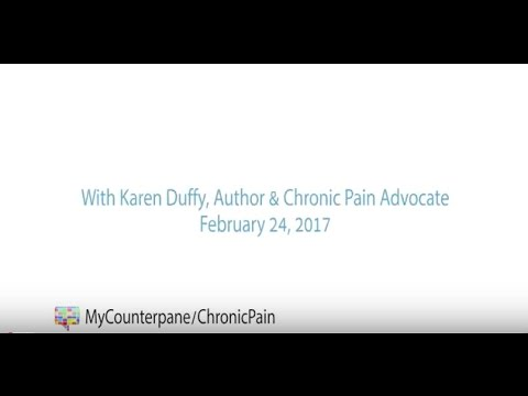 MyCounterpane OneonOne With Karen Duffy
