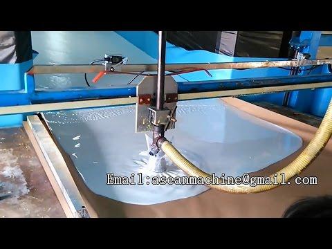 Flexibble mattresses polyurethane sponge foam horizontal full automatic continuous foaming machine
