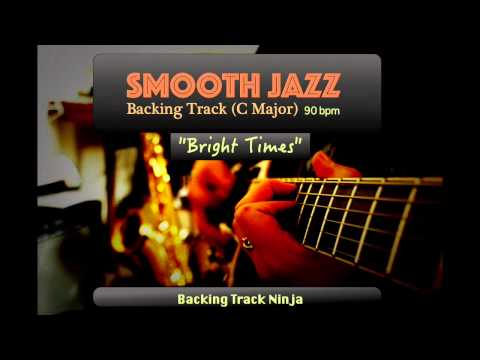 Smooth Jazz Backing Track In C Major [90bpm] HIGH QUALITY