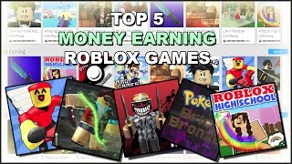 Top 5 Money Earning ROBLOX Games