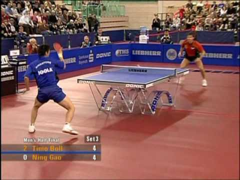 The best table tennis players