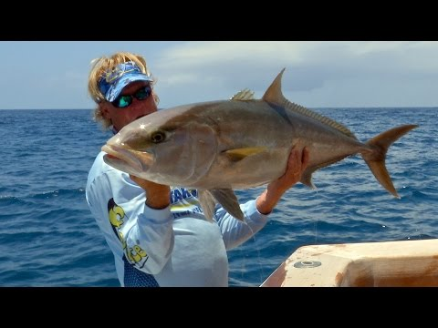 Deep Sea Fishing for Monster Fish - Grouper Snapper and Amberjack