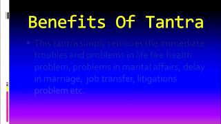 Tantra To Remove Problems