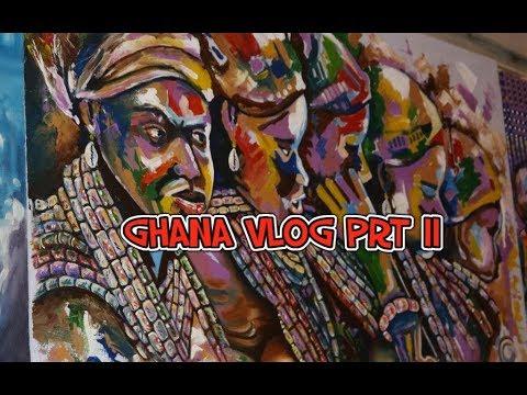 Trip to Ghana prt 2| Bojo Beach, Chalewote Festival| Vlog 002