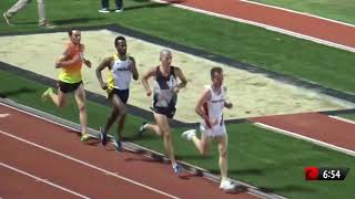Futsum Zienasellassie NCAA Lead 13:37 5K | 2016 Bryan Clay Invite