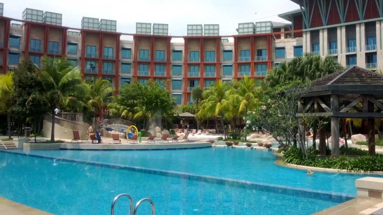 20121022 Singapore Sentosa Hard Rock Hotel Swimming Pool Hd Youtube
