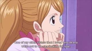 Pudding's Talking About Sanji - One Piece 788 Eng Sub