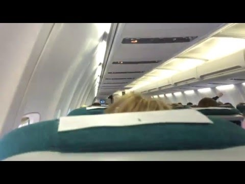 Aer Lingus 757 takeoff from Shannon