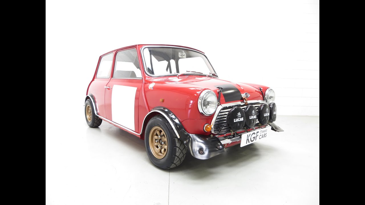 An Incredible Mk2 Mini Cooper S Rally Works Replica Fully Road Legal ...