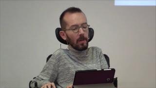 Presentación del programa electoral de Podemos