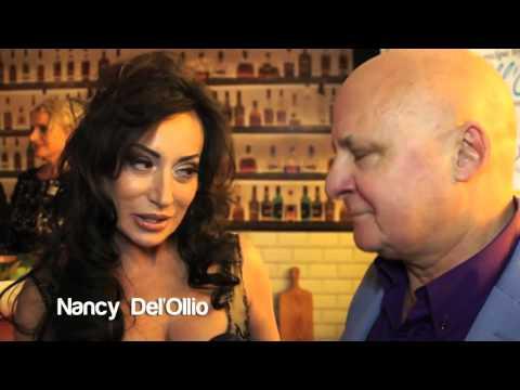 Aldo Zilli interviews the stars at The Sacla 25th Birthday Party