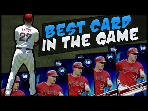 MIKE TROUT CANT BE STOPPED! MLB The Show 17 Diamond Dynasty!